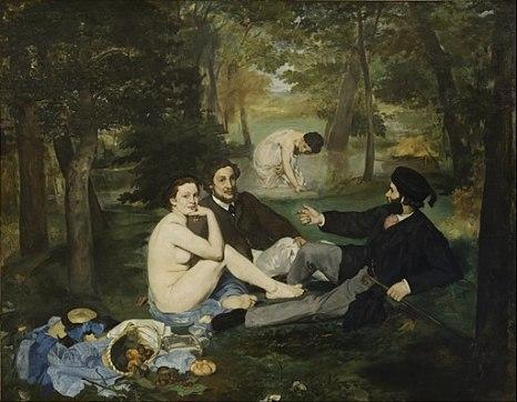 ArtTwist#1 Edouard Manet (1862-63) Le DeJeuner sur l'herbe