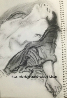Life drawing circa 1995 sketchbook